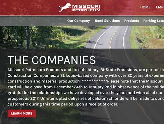 Missouri Petroleum's New Website