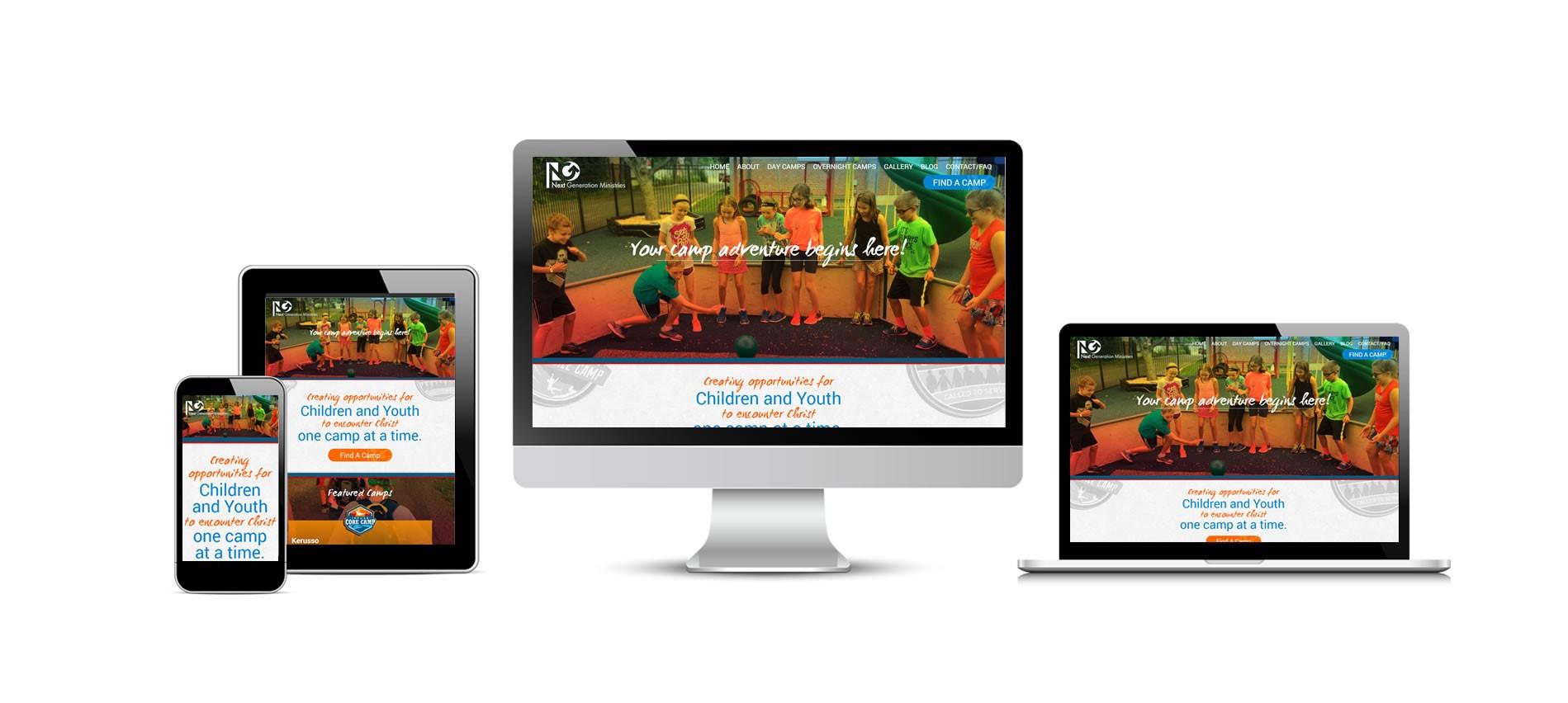 NextGen Camps New Website