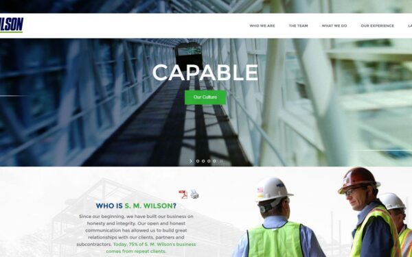 Great Construction Company Website Designs