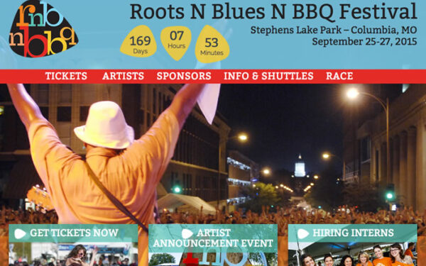 Roots N Blues N BBQ has a New Rockin' Site