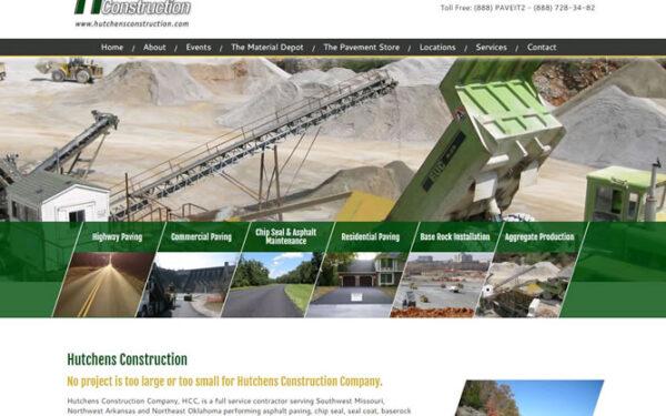 Hutchens Construction Company has a new look!