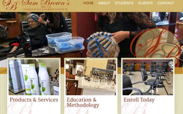 Sam Brown's Cosmetology & Barber Institute has a new look!