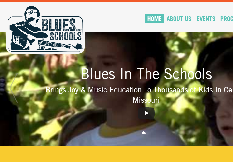 Blues in the Schools website updates with custom post types