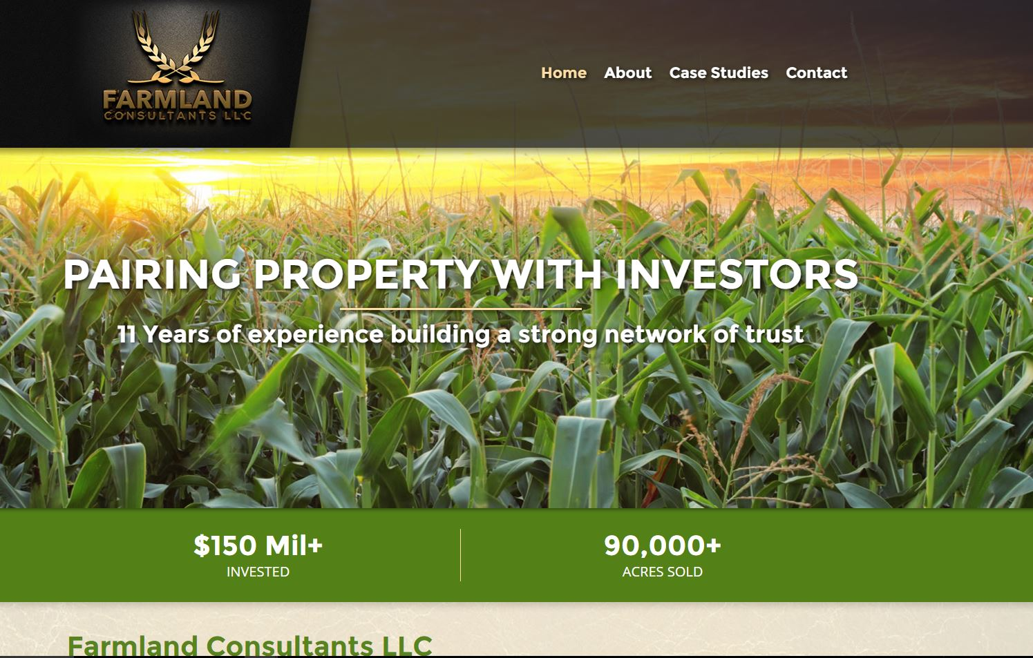 Farmland Consultants LLC new website