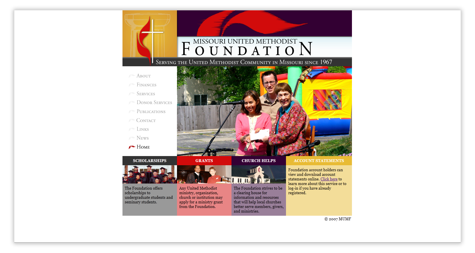 Missouri United Methodist Foundation | MayeCreate Design