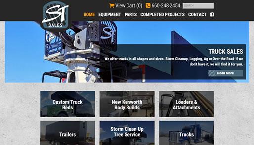 ST Sale's new website