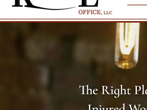 Kiefer Law Office finds the right place for their new website!