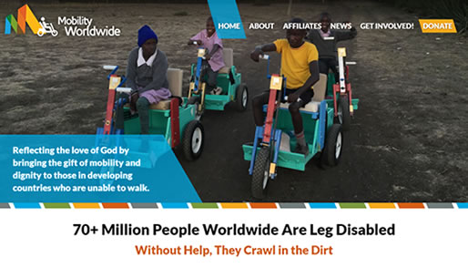 Mobility Worldwide's New Website
