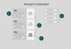 Example of the Project Overview Projects Section Type