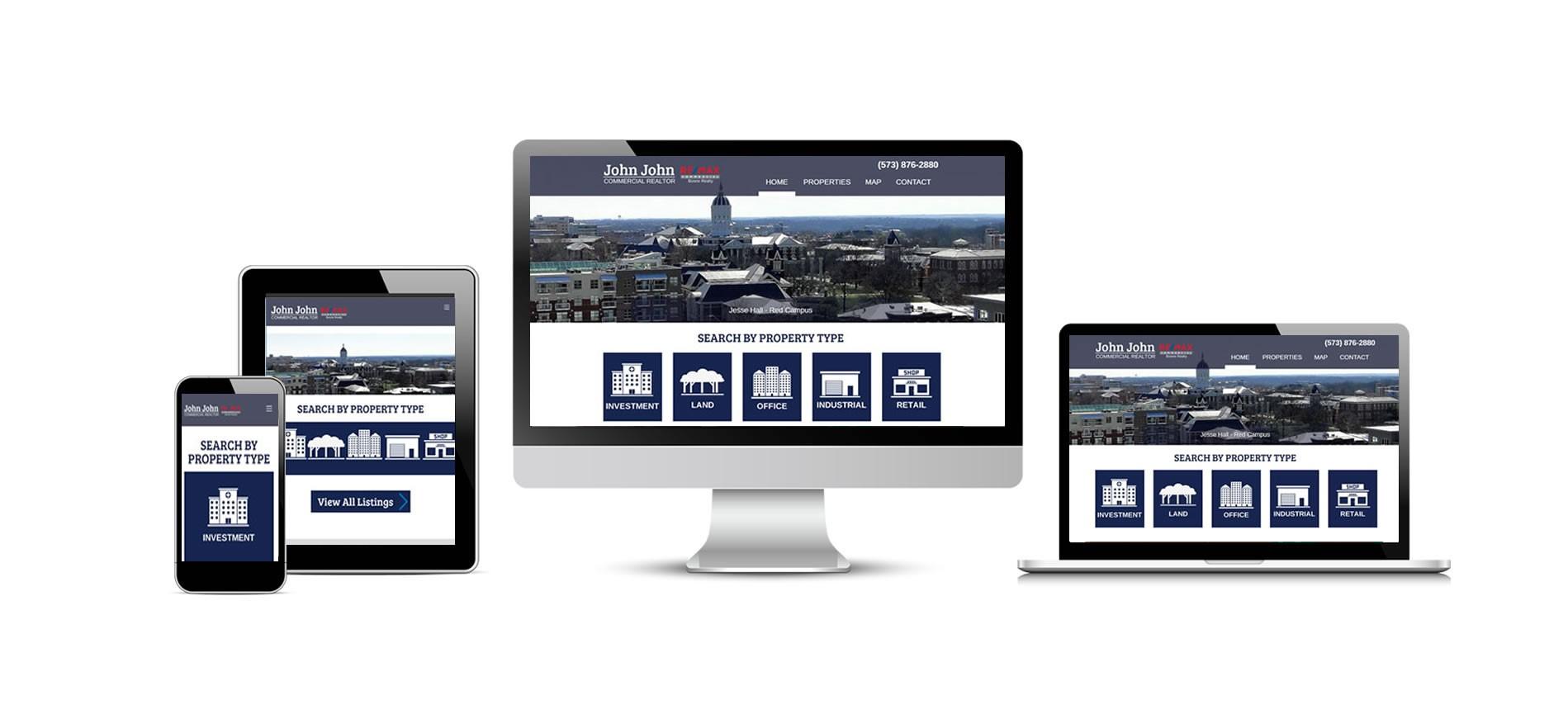 John John Commercial Realtor New Website