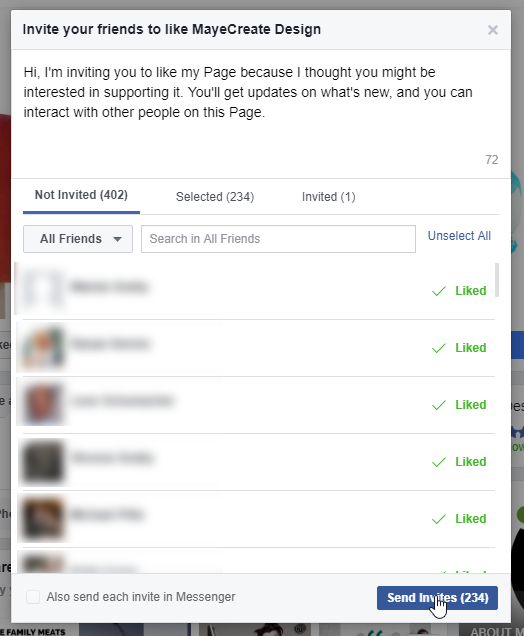 Facebook Fundamentals: How to Invite Friends to Like your Facebook Page