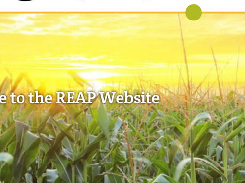 The Rural Energy for America Program (REAP) is now reaping the benefits of an all-new website