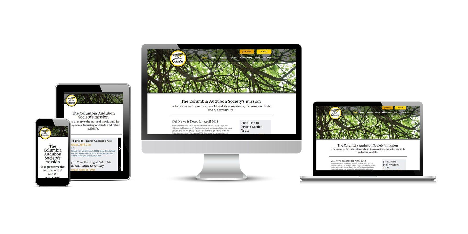Columbia Audubon Society New Website