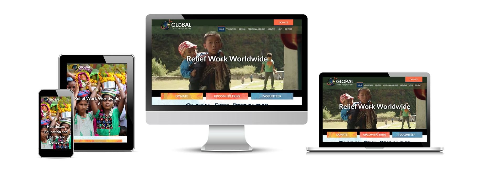 Global First Responder's New Website