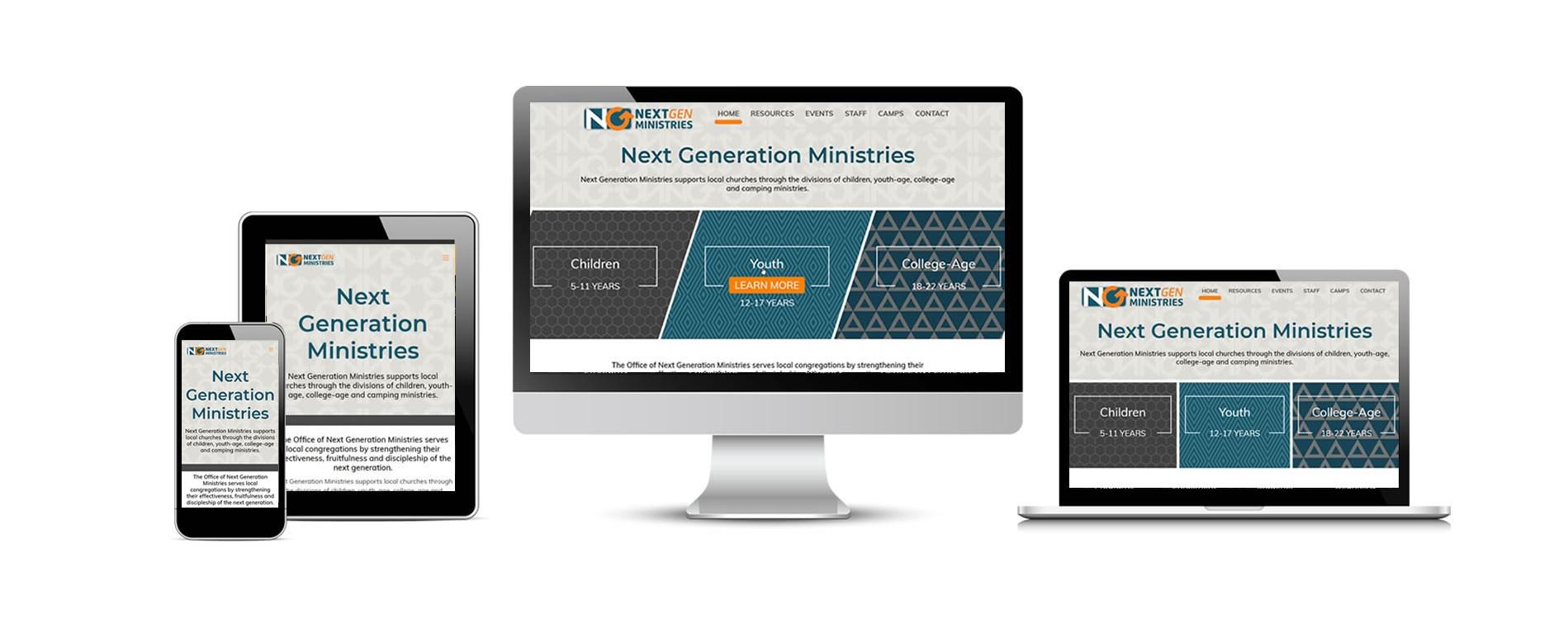 NextGen Ministries New Website