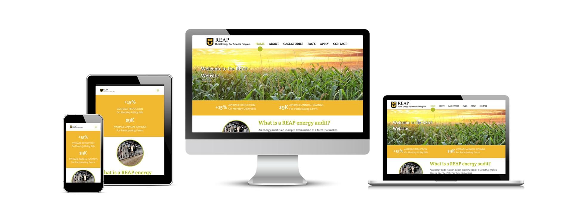REAP's New Website (Rural Energy for America Program)