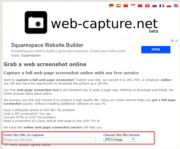 7 Ways to Save Web Pages as PDF/JPG/HTML Files - Web-Capture.net
