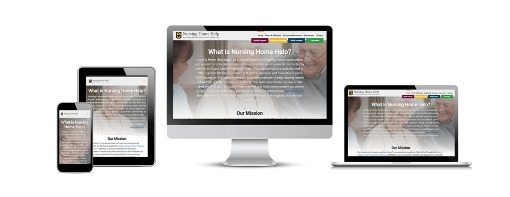 Nursing Home Help's New Website