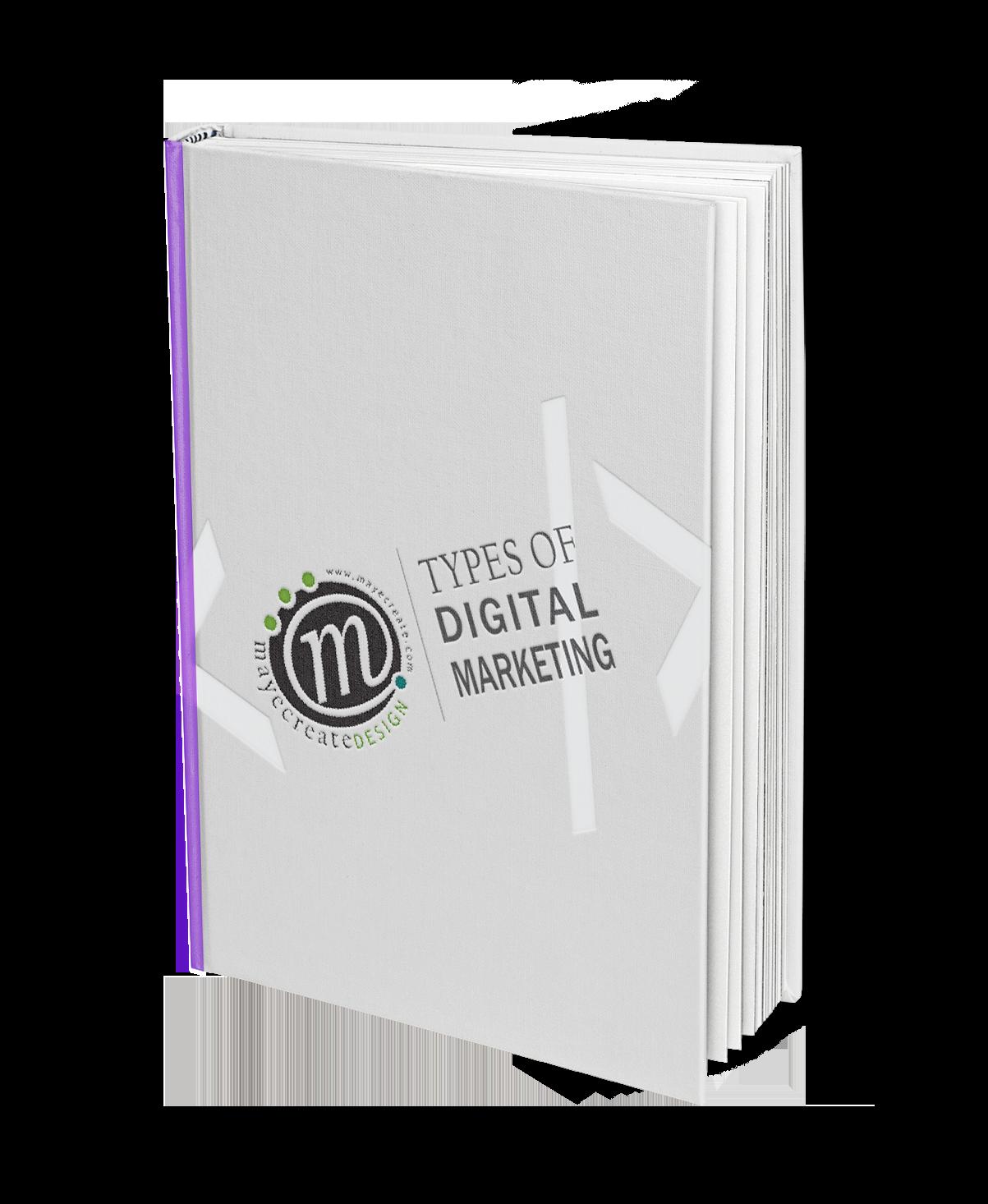 Types of Digital Marketing E-Book