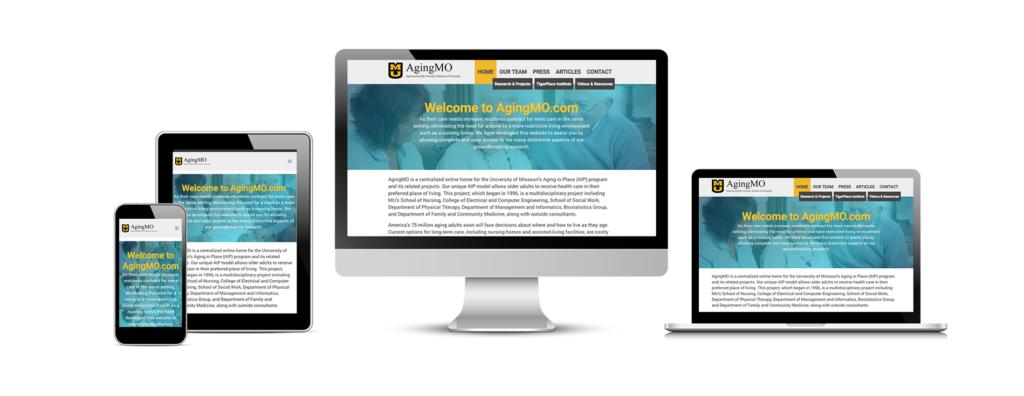 AgingMO's New Website