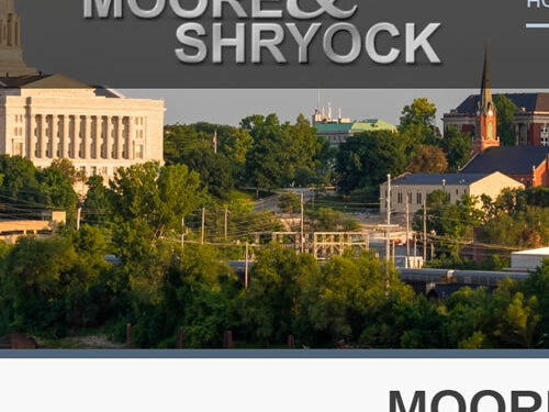 Moore & Shryock boost the value of their online home with an all-new website!