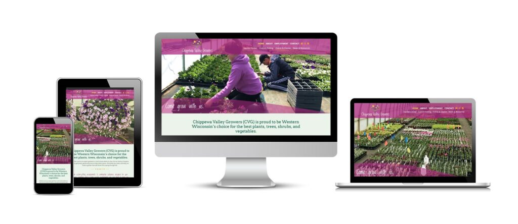 Chippewa Valley Growers - New Website