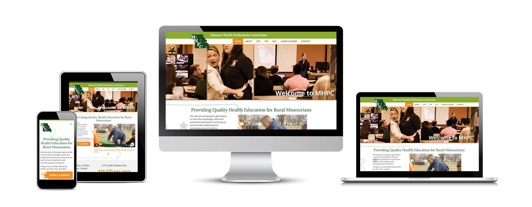 Missouri Health Professions Consortium New Website