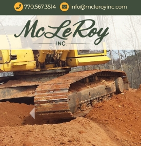 McLeRoy, Inc. incorporates integrity, quality, and hard work into their new website.
