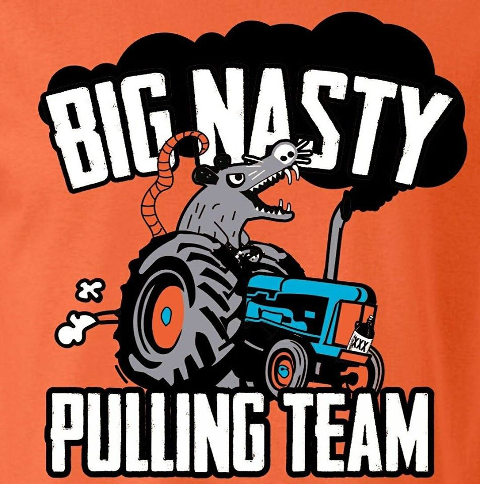 Big Nasty Pulling Team Logo