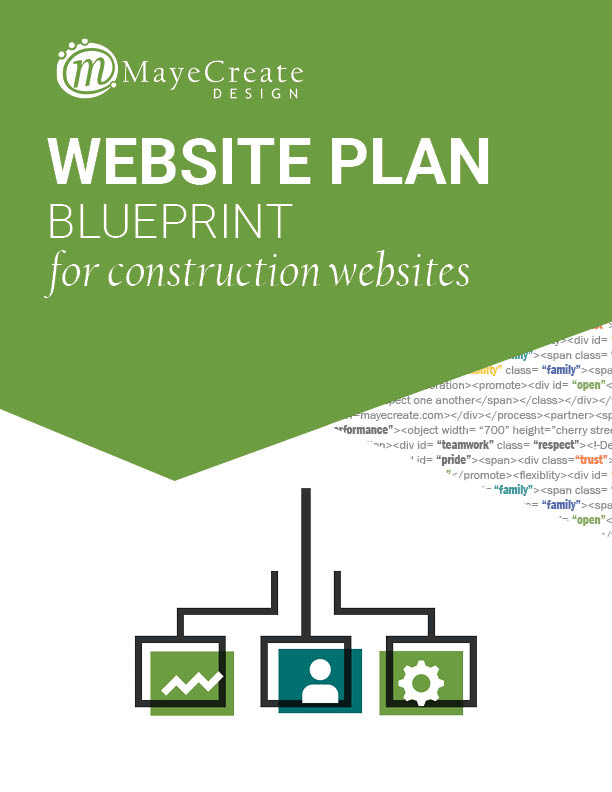 Blueprint for Construction Websites E-Book