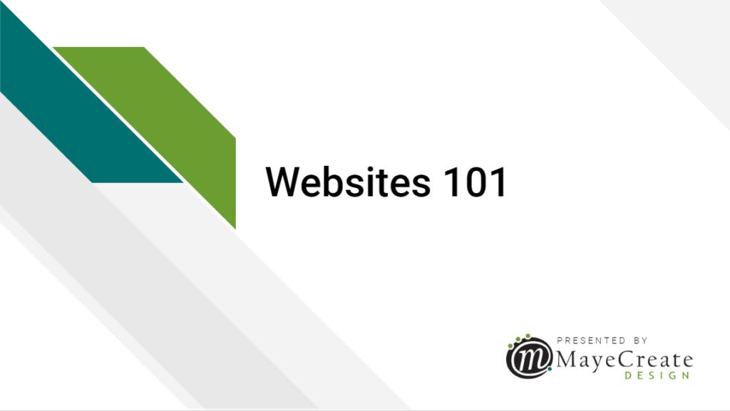 Websites 101