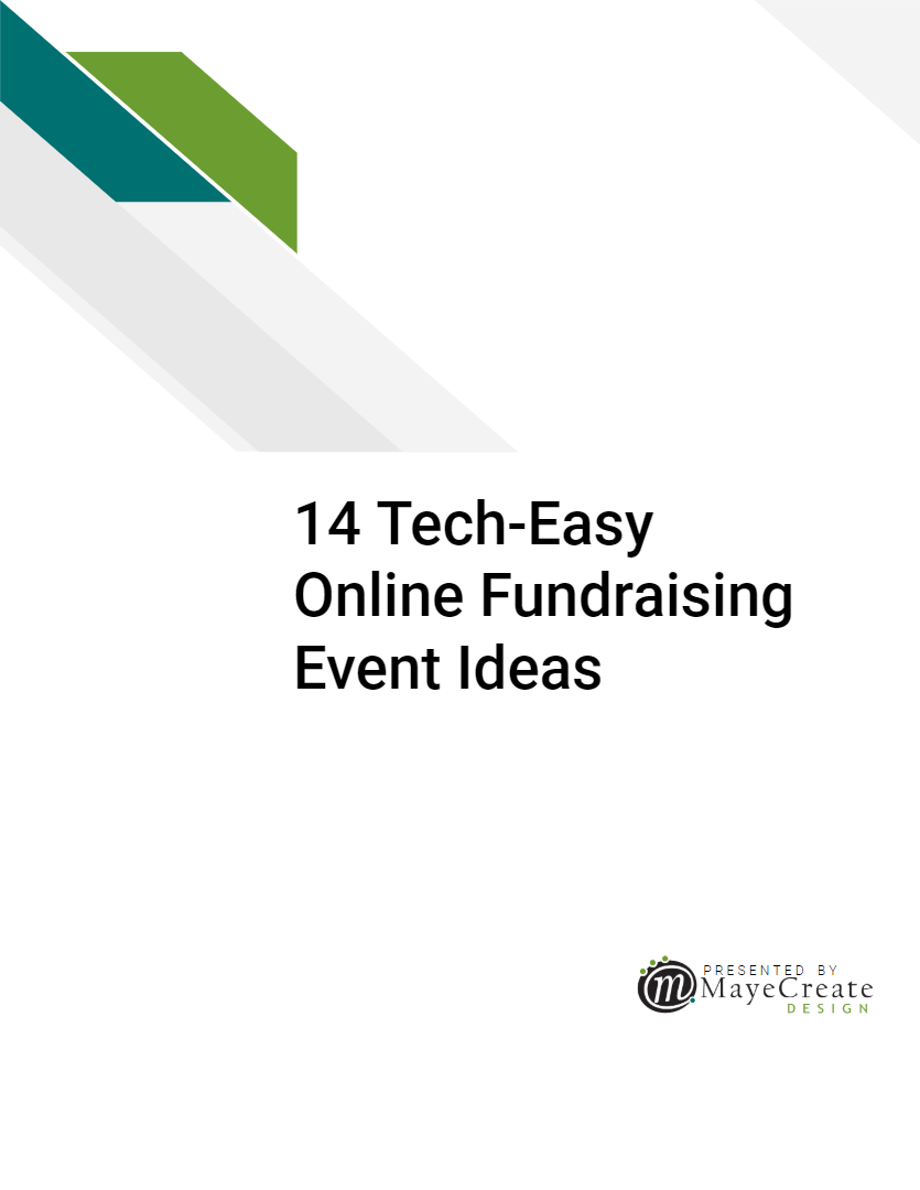 14 Tech-Easy Online Event Ideas for Fundraising E-Book