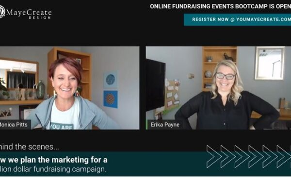 Aha Moments from Bumpy Situations Managing a Million Dollar Online Fundraiser with Guest Erika Payne