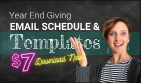 Year End Giving Email Schedule & Templates