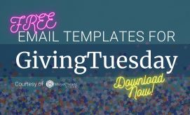 3 Free GivingTuesday Email Templates