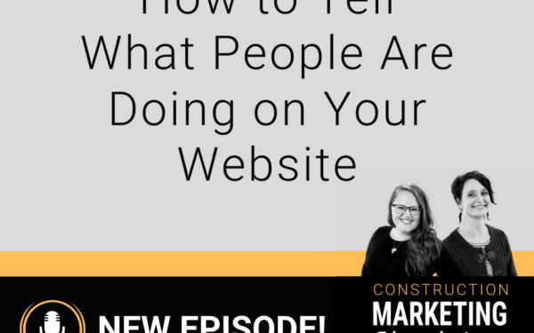 How to tell what people are doing on your website