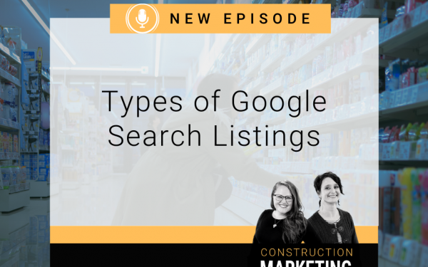 Types of Google Search Listings