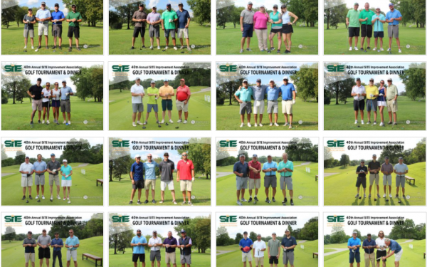 SITE Golf Tournament Group Photos – August 2021