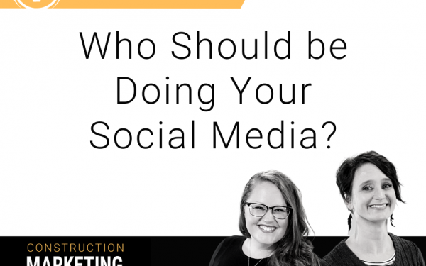 Who should be doing your social media?